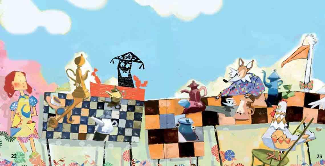 Cordel para crianças: uma releitura de Alice no País das Maravilhas