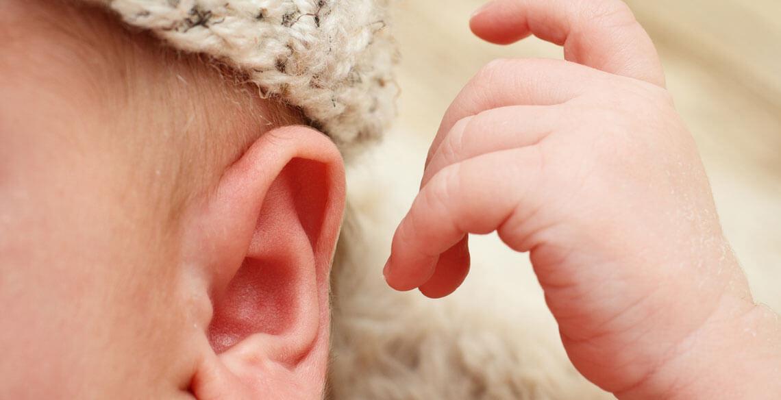 Sem audição, não há fala!