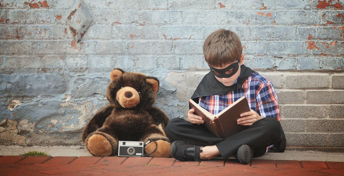A narrativa e o papel são capazes de estimular a criança sem a necessidade de um texto
