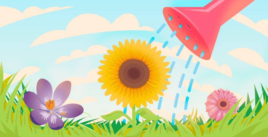 5 dicas fofinhas para montar seu próprio jardim com as crianças