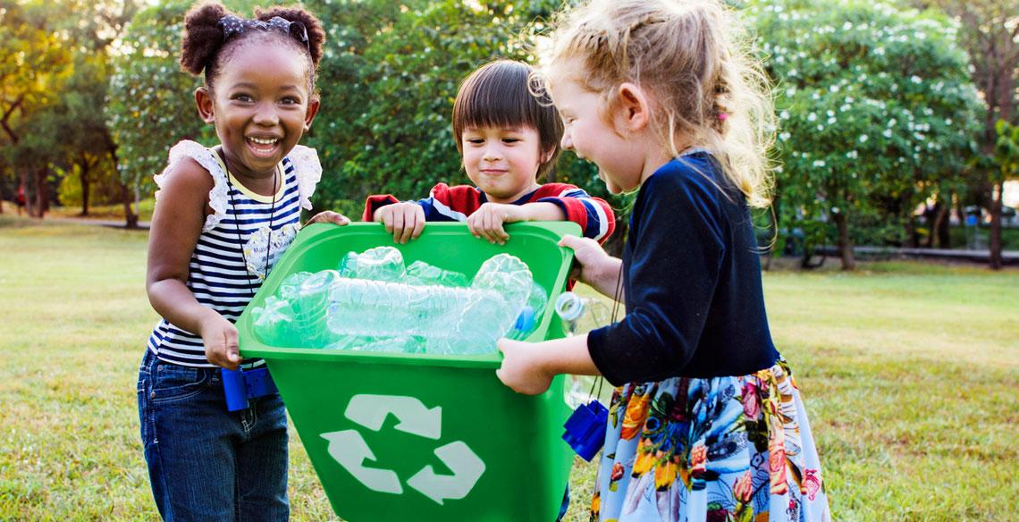 Você e sua família descartam o lixo corretamente?
