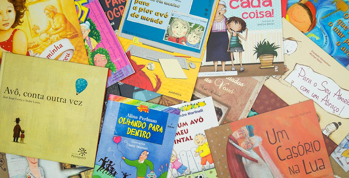 13 livros infantis para ler com os avós