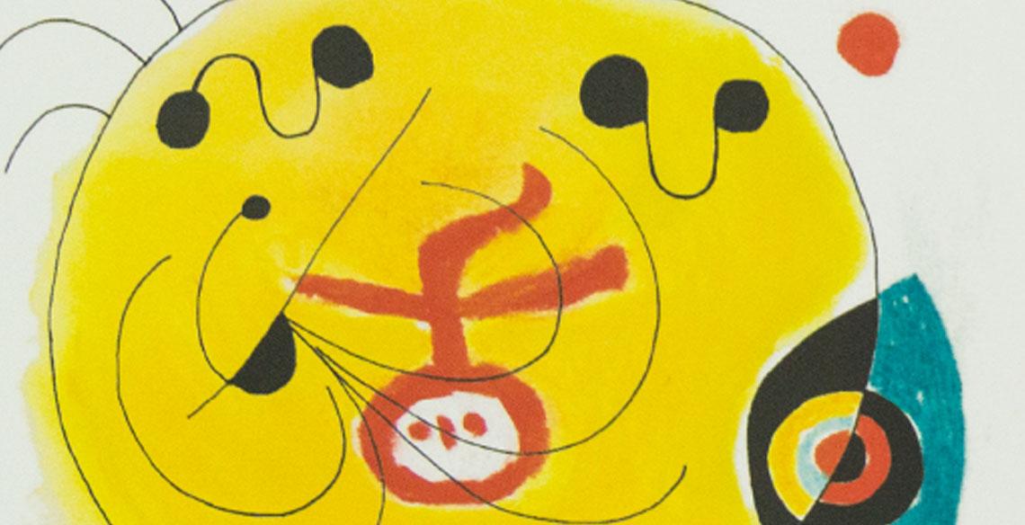 Livro é inspirado na arte de Miró e na valorização do desenho infantil