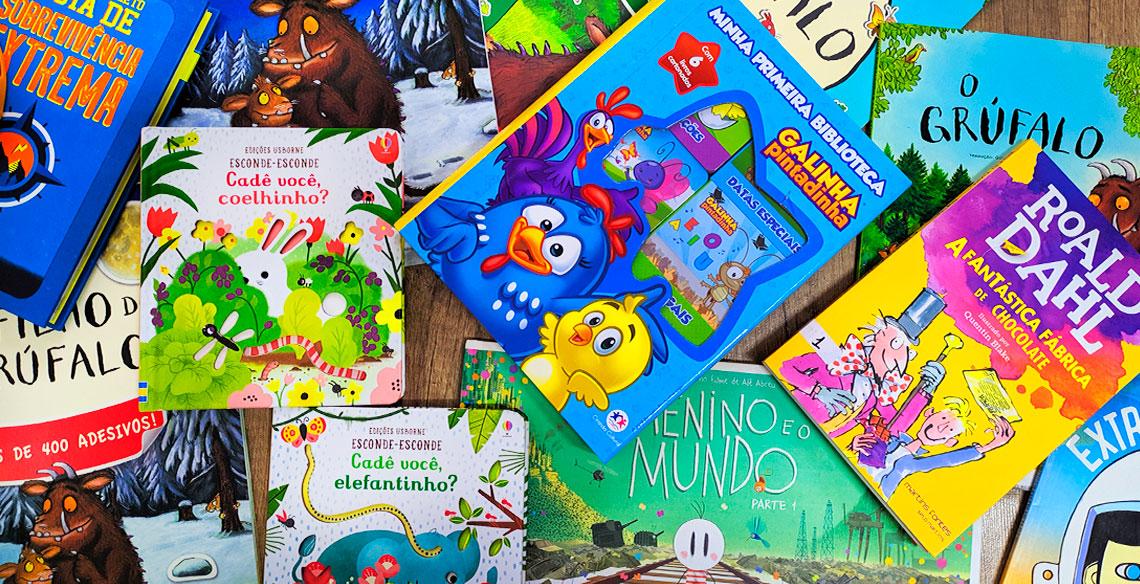 5 coleções de livros para celebrar o Dia das Crianças