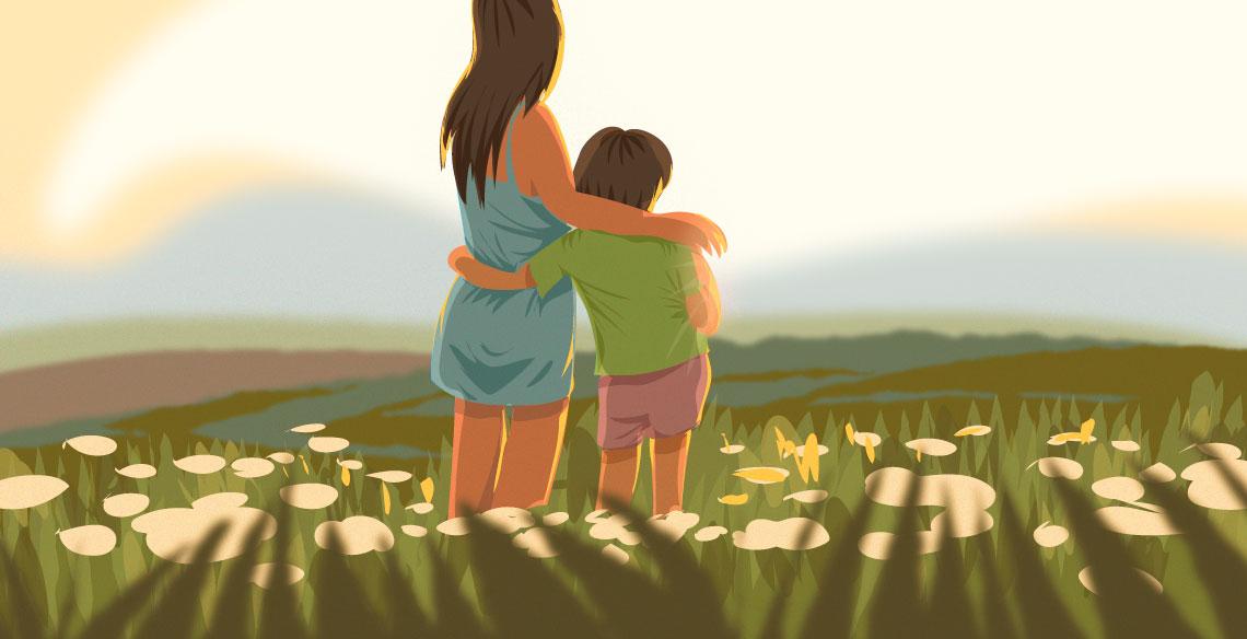 Ser dinda é ser mãe do coração
