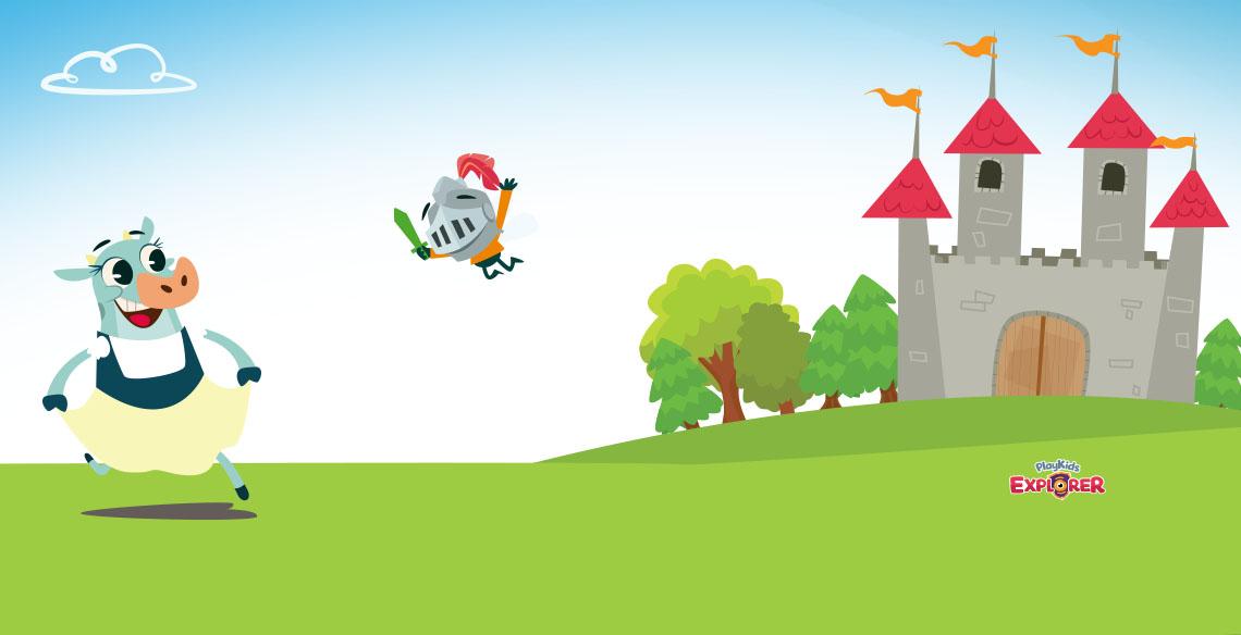 PlayKids Explorer: Ensinando História para crianças em uma viagem à Idade Média