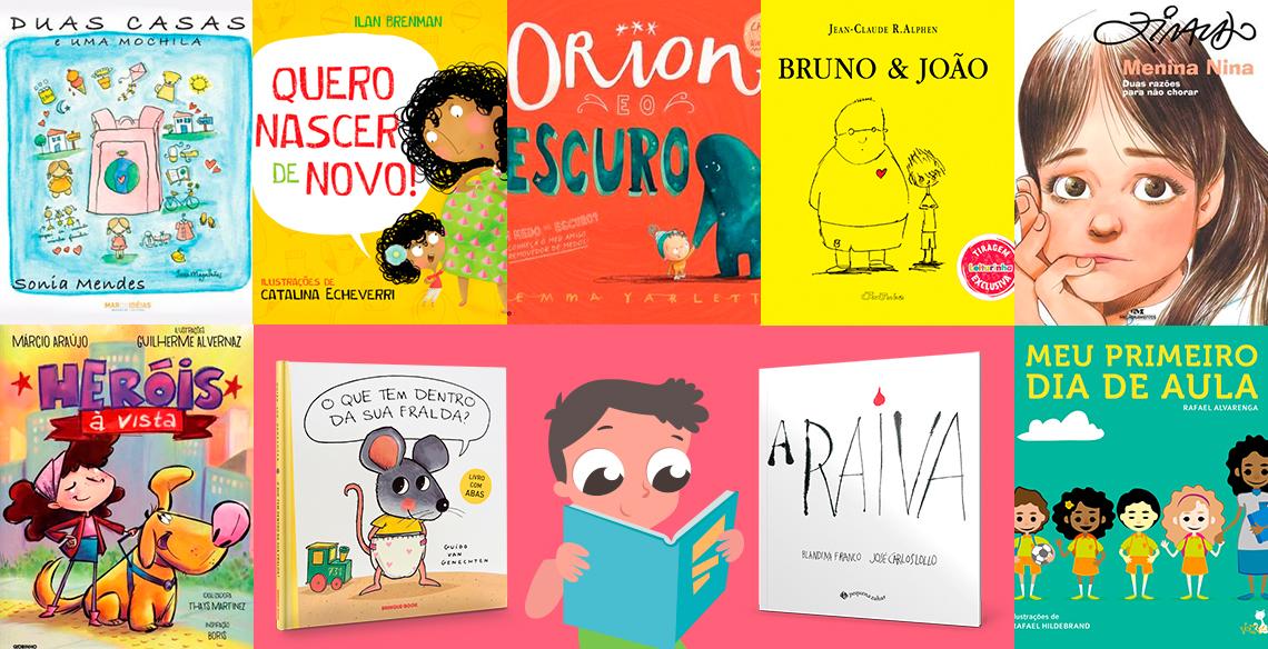 10 dicas de livros infantis que podem ajudar na educação dos filhos