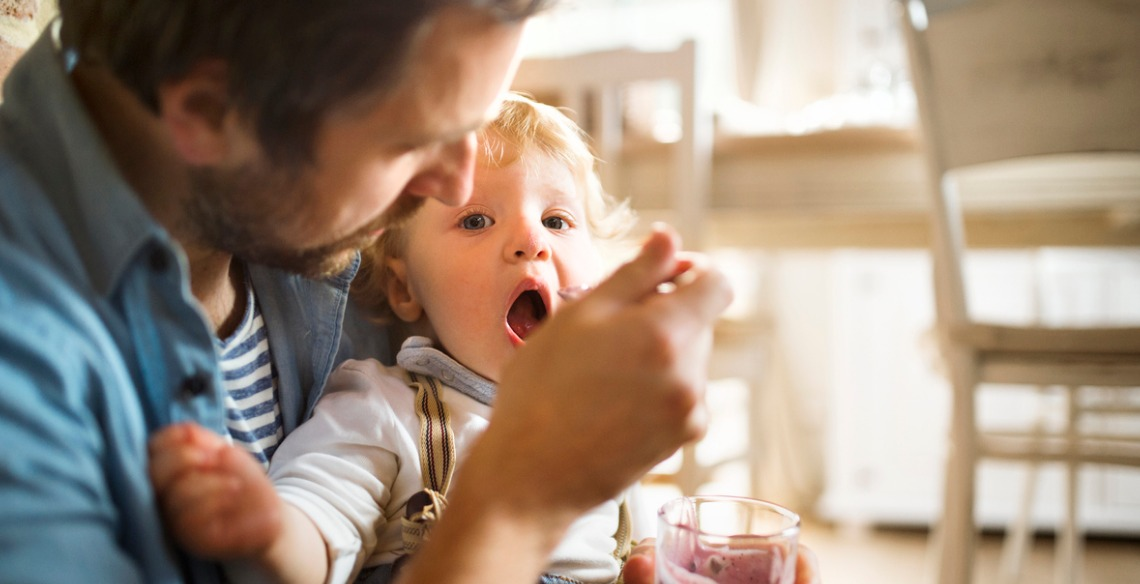 Como preparar o bebê para a introdução alimentar