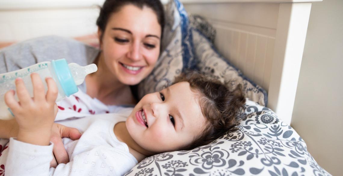 5 dicas para ajudar seu filho a largar a mamadeira