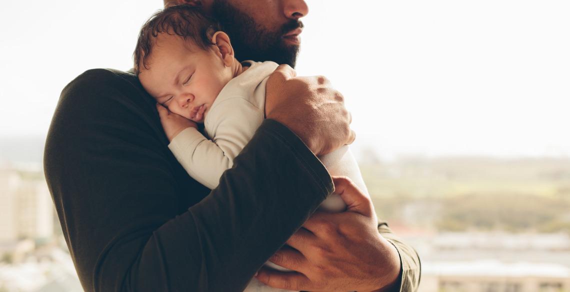 Ser pai é ser colo, ser exemplo e ser presente