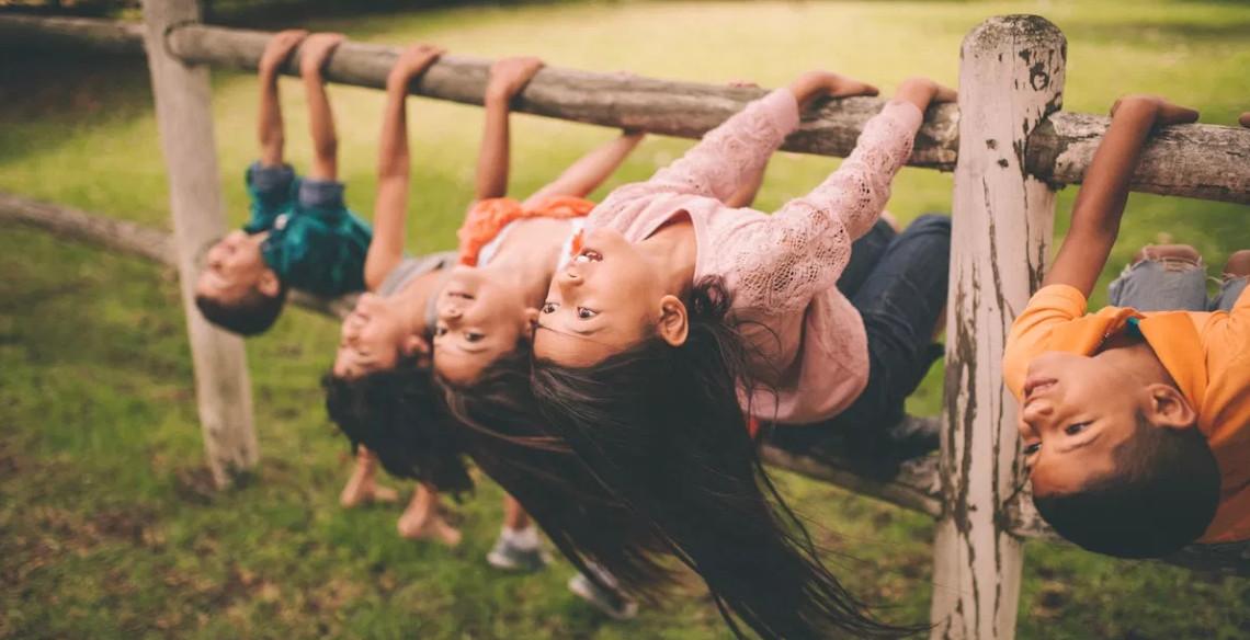 A importância de brincar ao ar livre