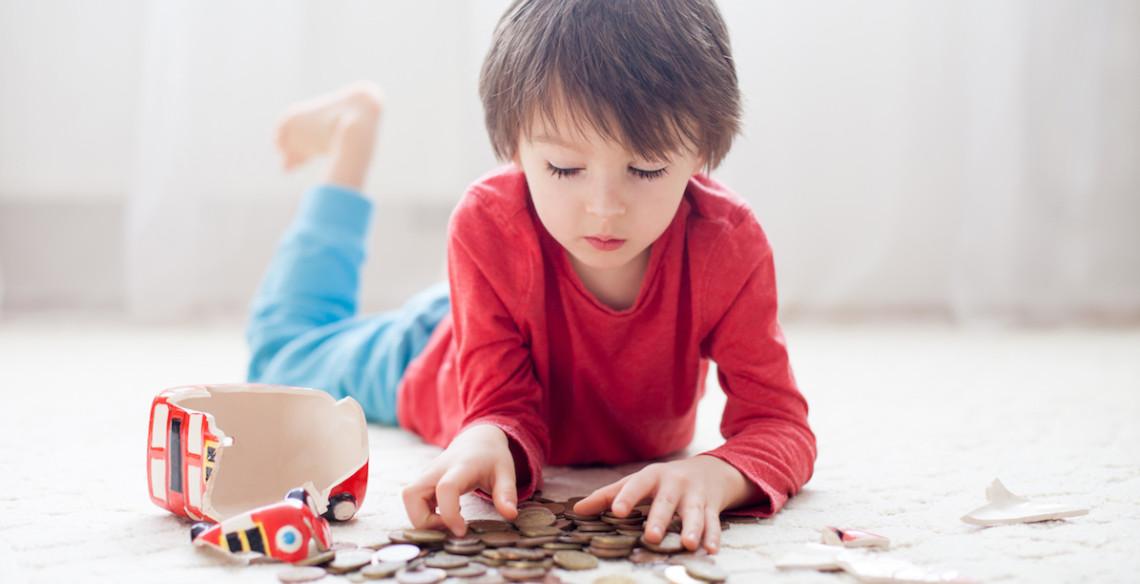 Como falar de dinheiro com as crianças