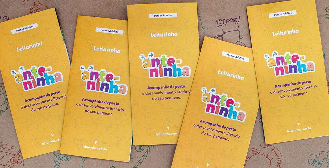 Anteninha: Um material destinado aos pais para apoiar a mediação da leitura