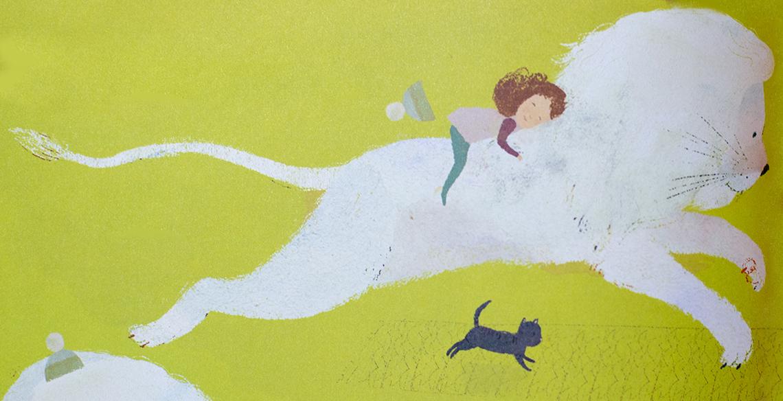 O Leão da Neve: um livro infantil para enfrentar o medo de mudança