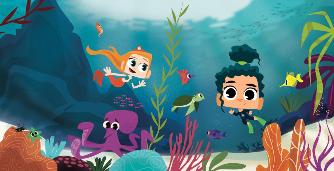PlayKids Explorer leva os pequenos para conhecer o Fundo do Mar