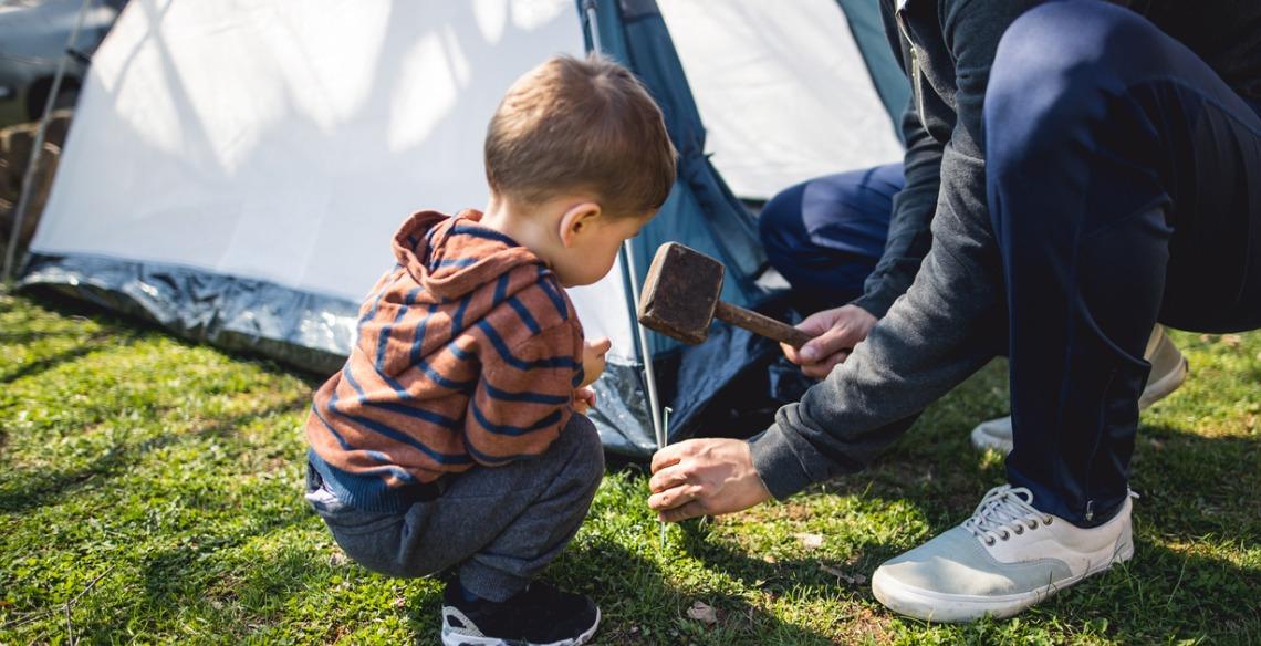 10 dicas essenciais para acampar com crianças