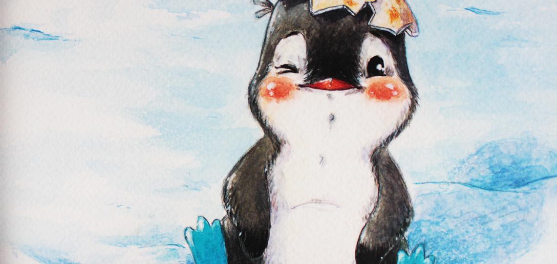 O Bebê Pinguim: um convite para os pequenos entrarem na história