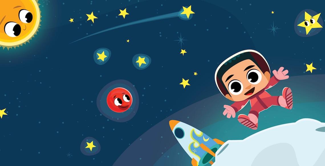 PlayKids Explorer leva os pequenos para conhecer o Espaço