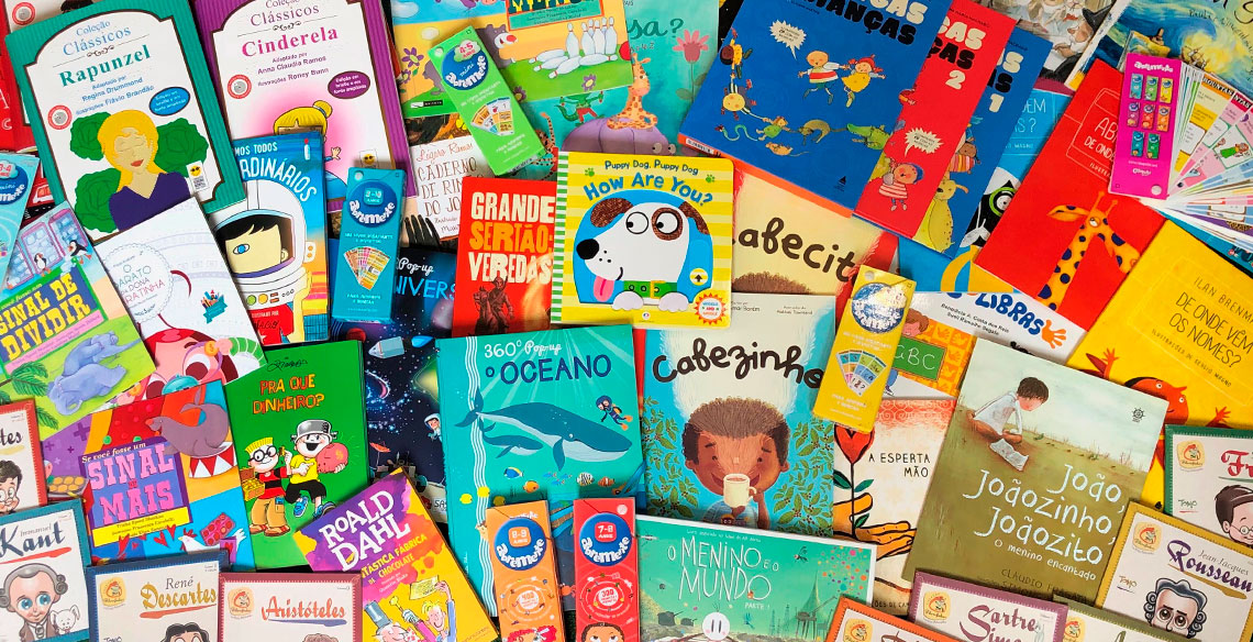 12 coleções de livros para educação infantil