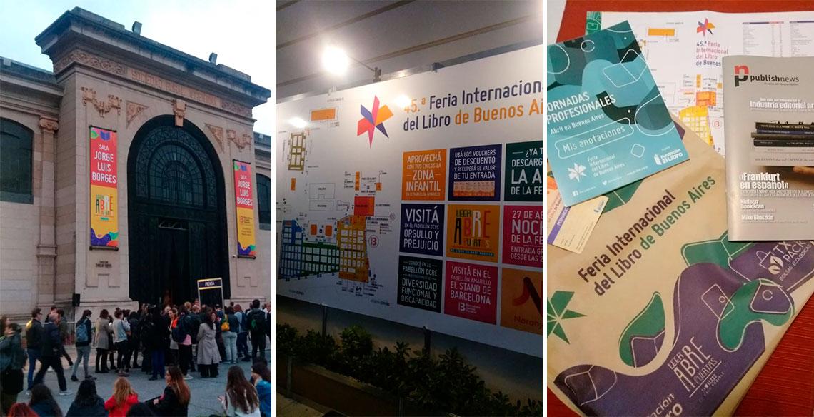 Leiturinha participa da 45ª Feira Internacional do Livro de Buenos Aires