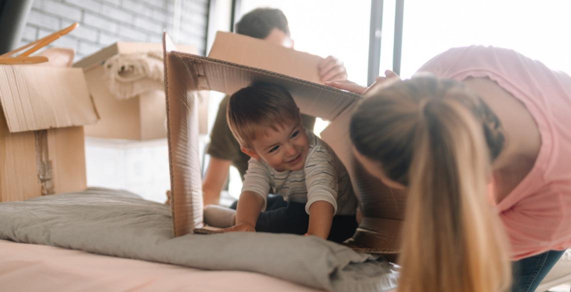 14 brincadeiras para fazer dentro de casa