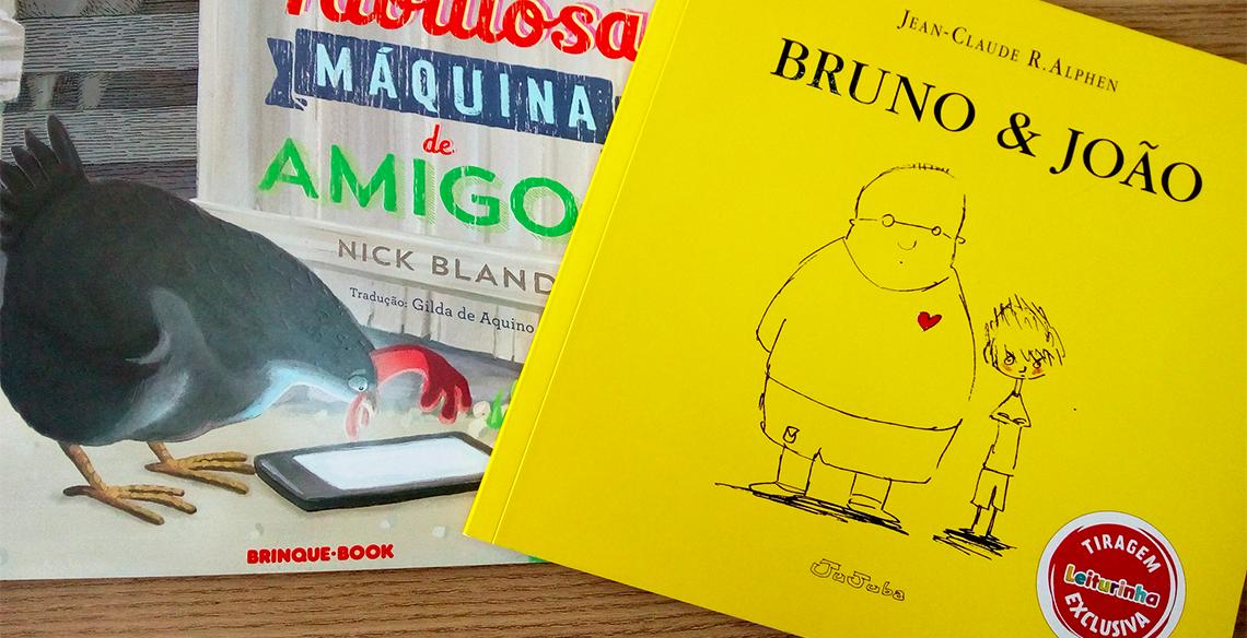 Coleção de livros sobre amizade para crianças