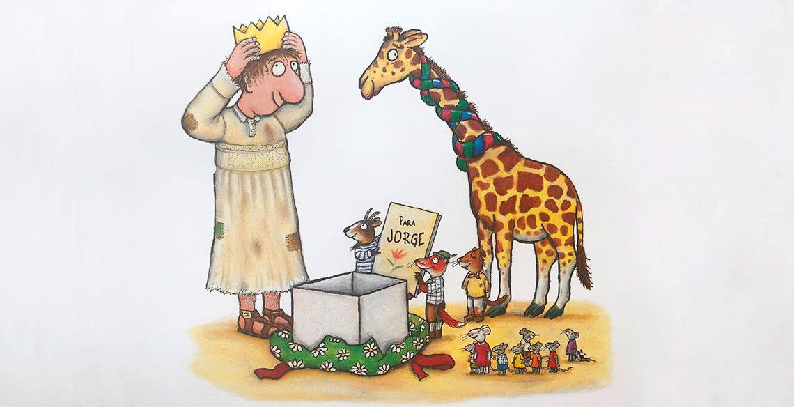 Um livro sobre solidariedade para crianças