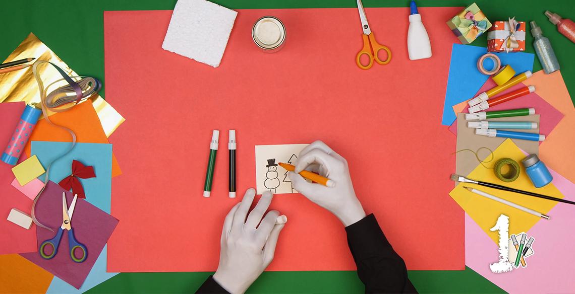 4 ideias de decoração de Natal para fazer com seu pequeno