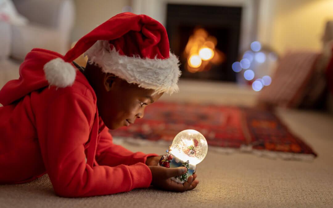 Seu pequeno ainda acredita em Papai Noel?