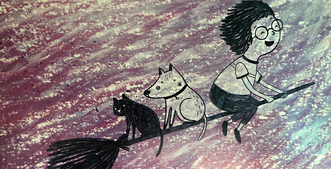 Caçadores de Lobo Mau: e quando o pequeno tem medo do livro?