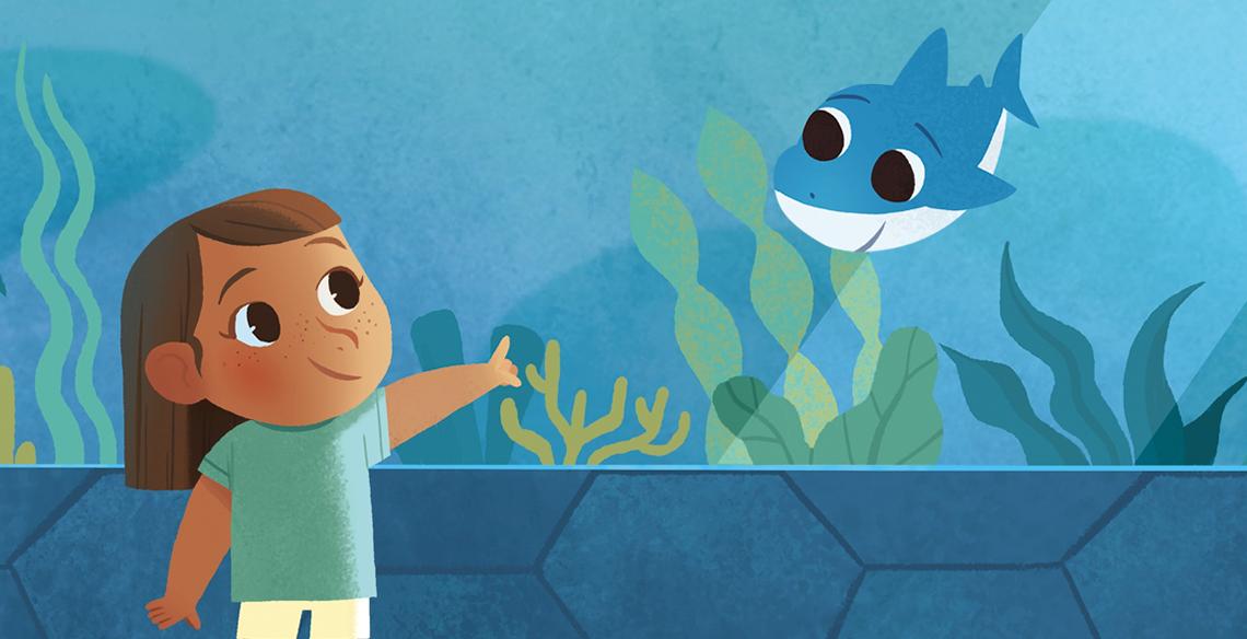Livro do Baby Shark: primeira pré-venda da Loja Leiturinha