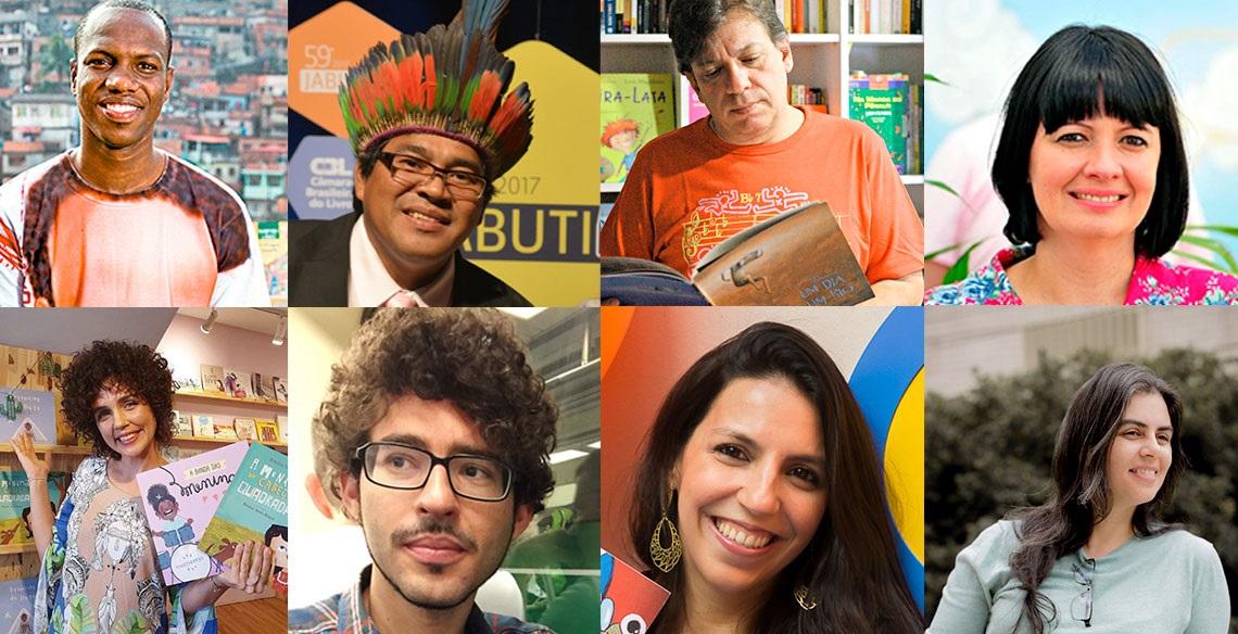 10 autores brasileiros enviados pela Leiturinha