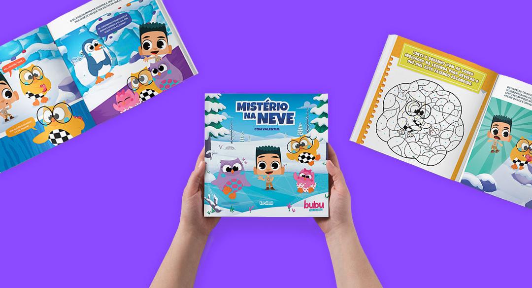 Loja Leiturinha lança livro exclusivo de Bubu e as Corujinhas!