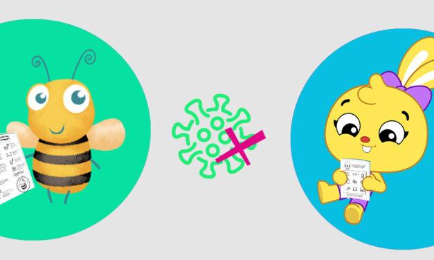 Leiturinha e PlayKids disponibilizam livro de atividades sobre Coronavírus!