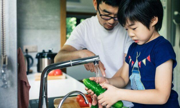 Dicas para higienizar os alimentos em casa