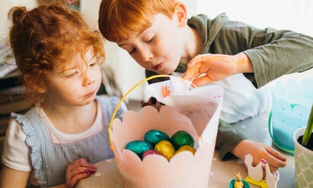 5 dicas para fazer uma caça ao ovo de páscoa com os pequenos