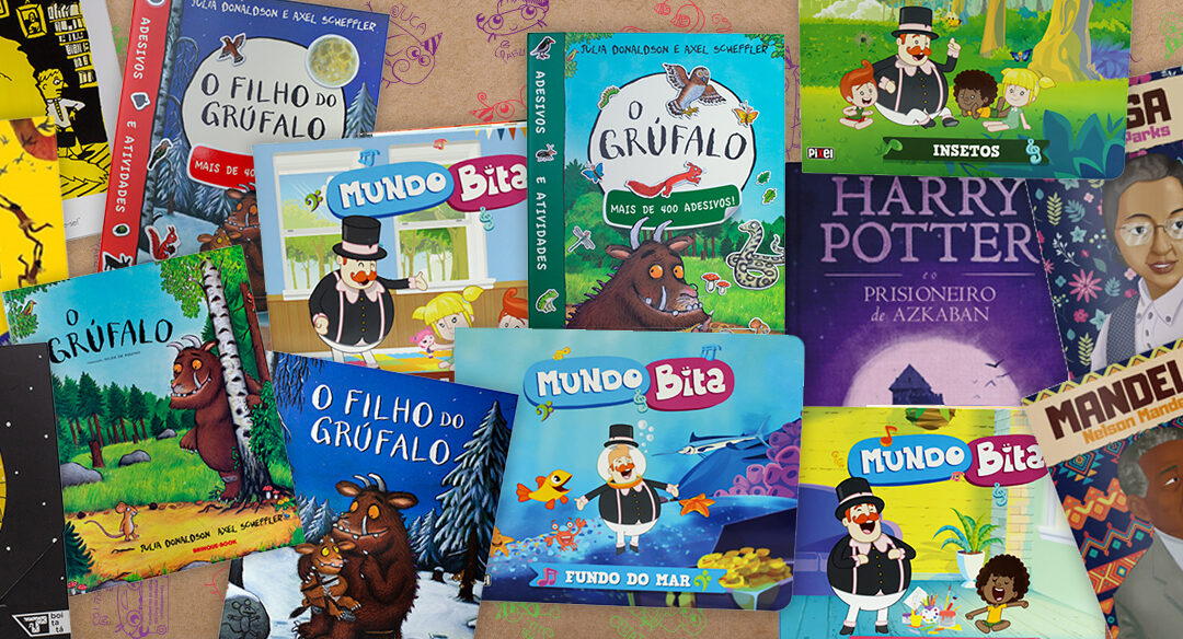 6 coleções de livros infantis da Loja Leiturinha