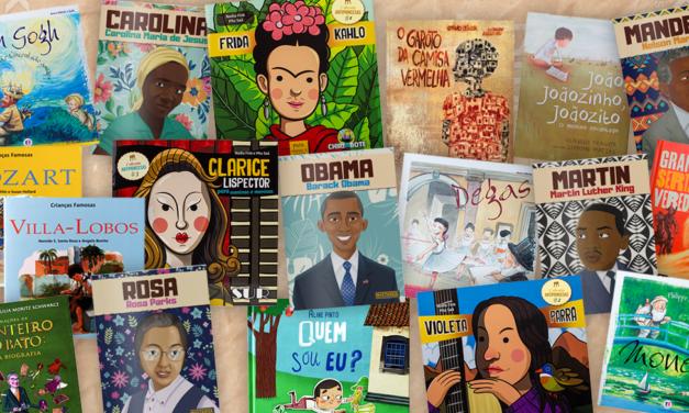 Biografias para crianças lerem e conhecerem da Loja Leiturinha