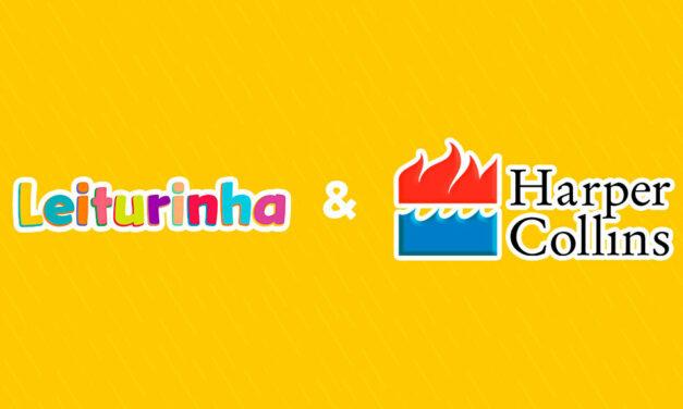 Parceria entre Leiturinha e HarperCollins lança o selo kids da editora no Brasil