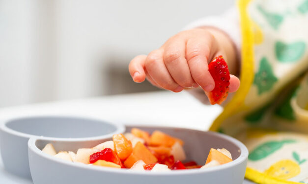 Como as texturas alimentares interferem na introdução alimentar