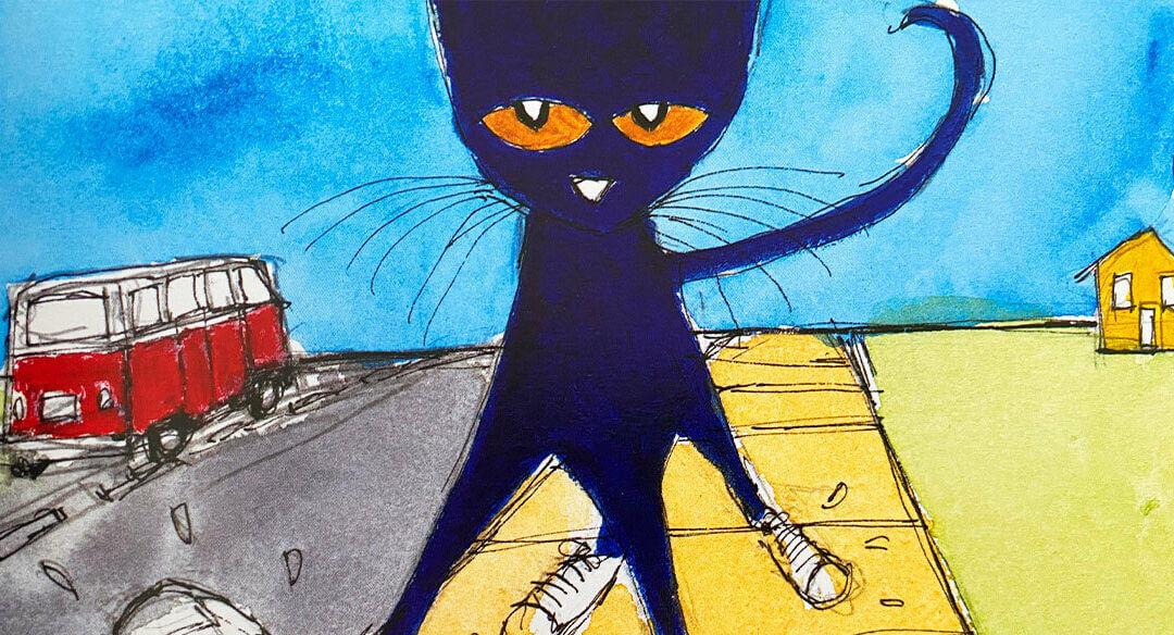 O Gato Pete: um lançamento exclusivo Leiturinha