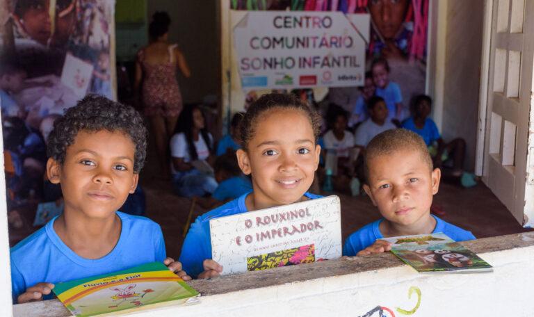 Leiturinha do Bem: Aldeias Infantis Brasília