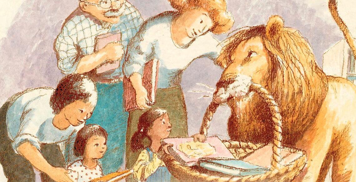 Leão de Biblioteca