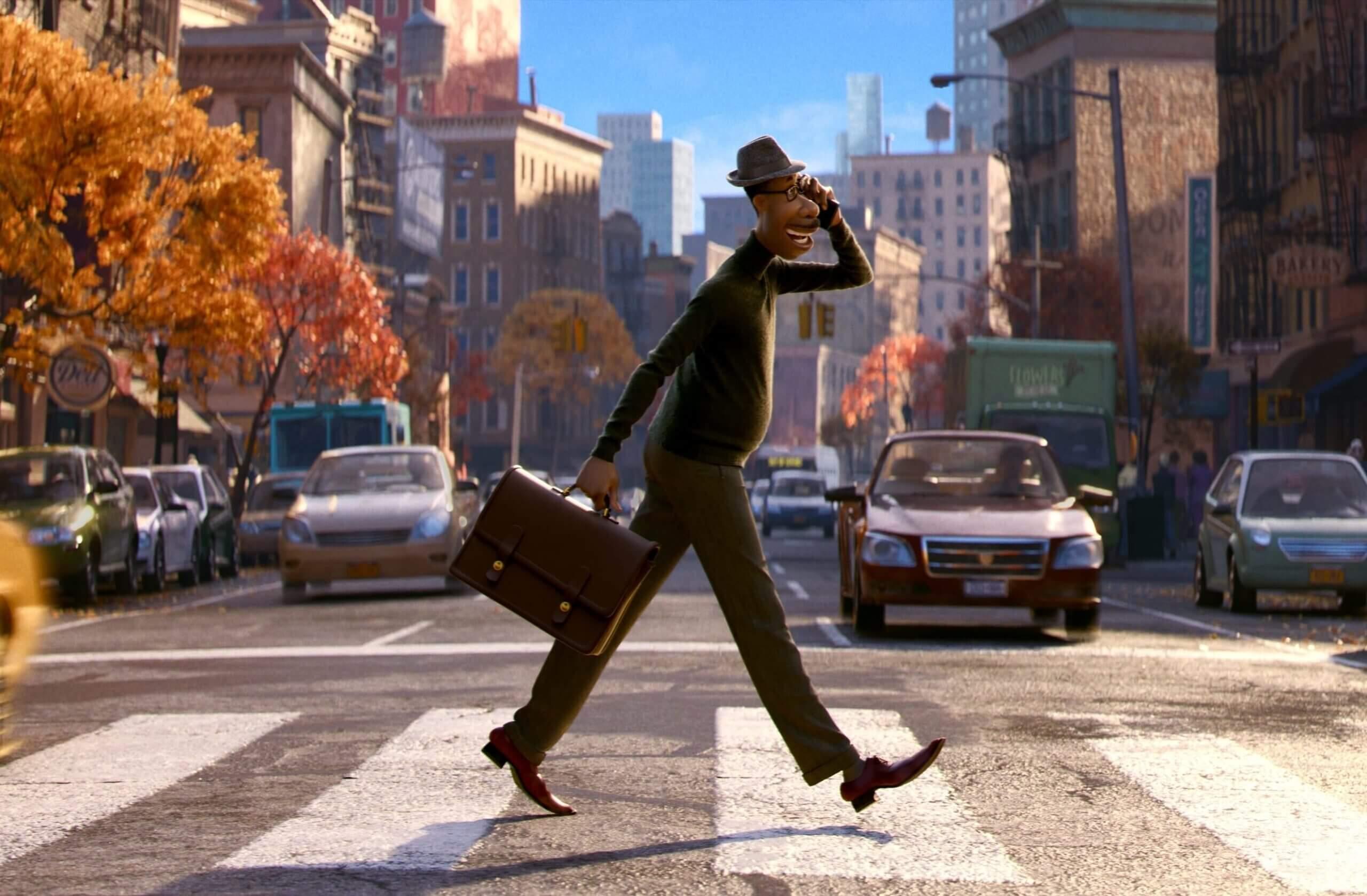 """Filme """"Soul"""", da Pixar, disponível no Disney+. Crédito: Disney/Divulgação"""