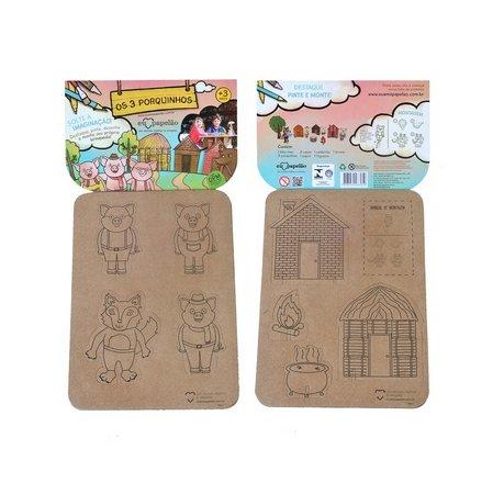 os-3-porquinhos-eu-amo-papelao