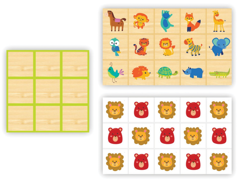 big-memoria-jogo-da-velha-2-em-1-animais-zastras
