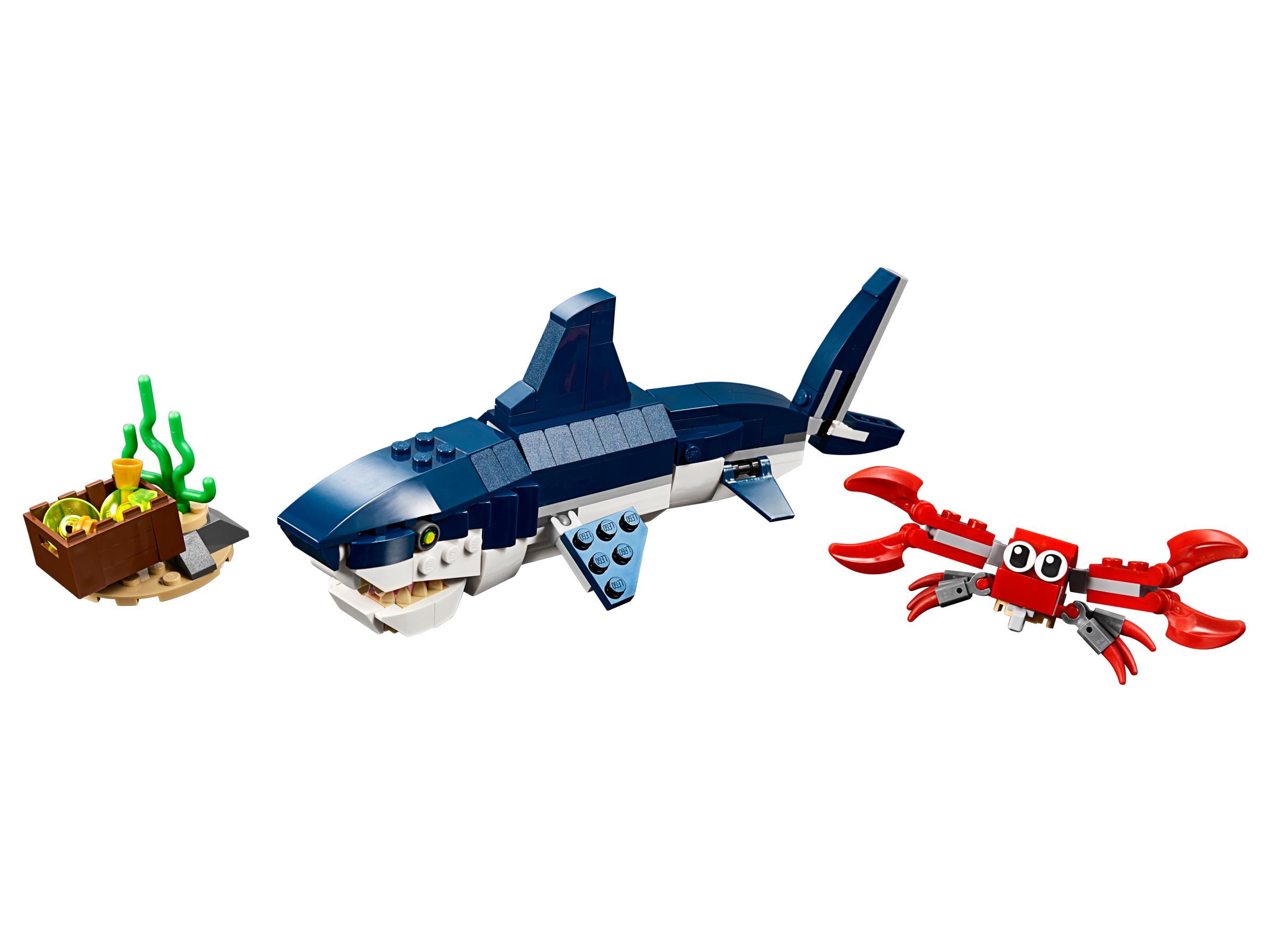 criaturas-do-fundo-do-mar-lego-creator-3-em-1