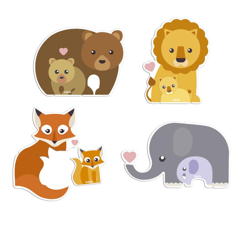 quebra-cabeca-baby-animais-e-filhotes-babebi