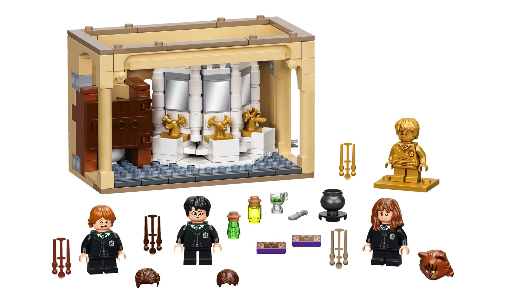 brinquedo-hogwarts-erro-de-pocao-polissuco-lego-harry-potter