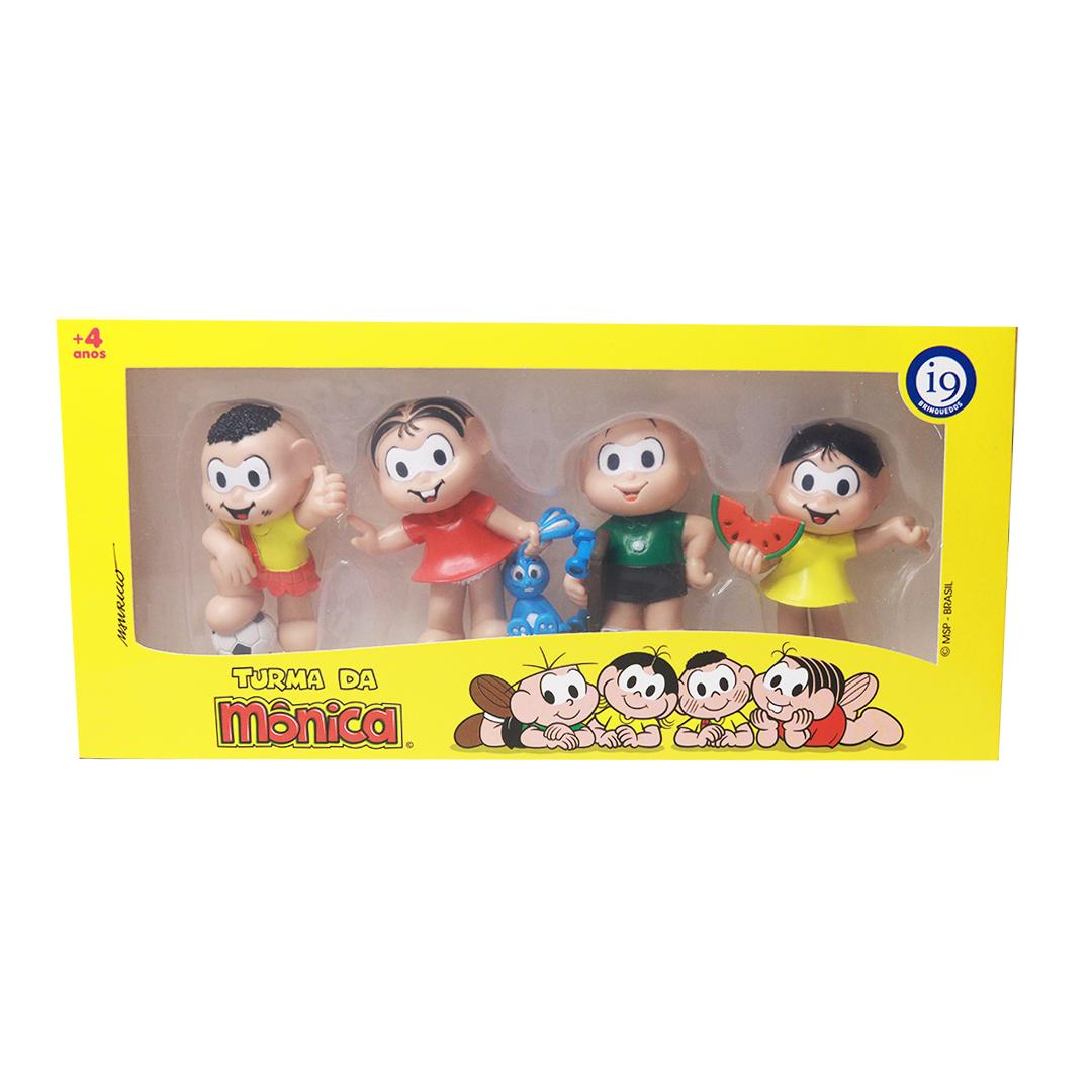 bonecos-turma-da-monica-4-unidades-i9-brinquedos